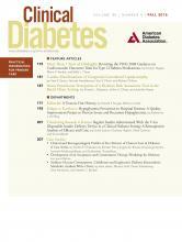 Clinical Diabetes: 34 (4)
