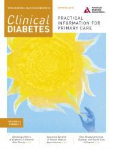 Clinical Diabetes: 36 (3)
