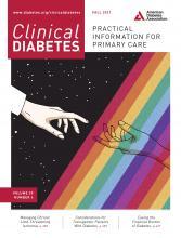 Clinical Diabetes: 39 (4)